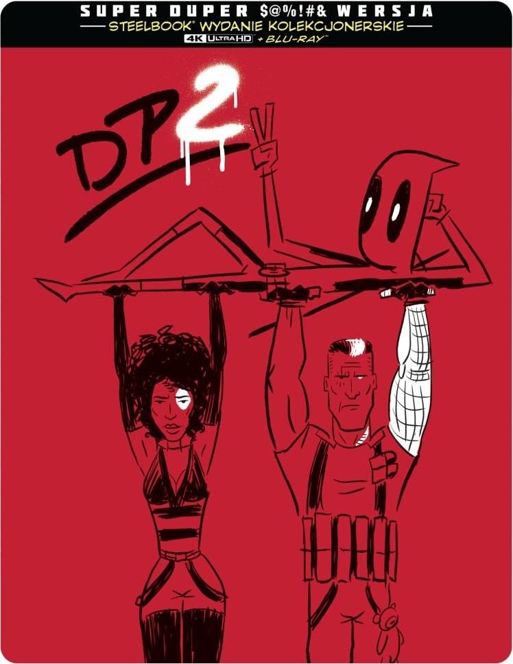 Deadpool 2 (2-dyskowe wydanie steelbook)