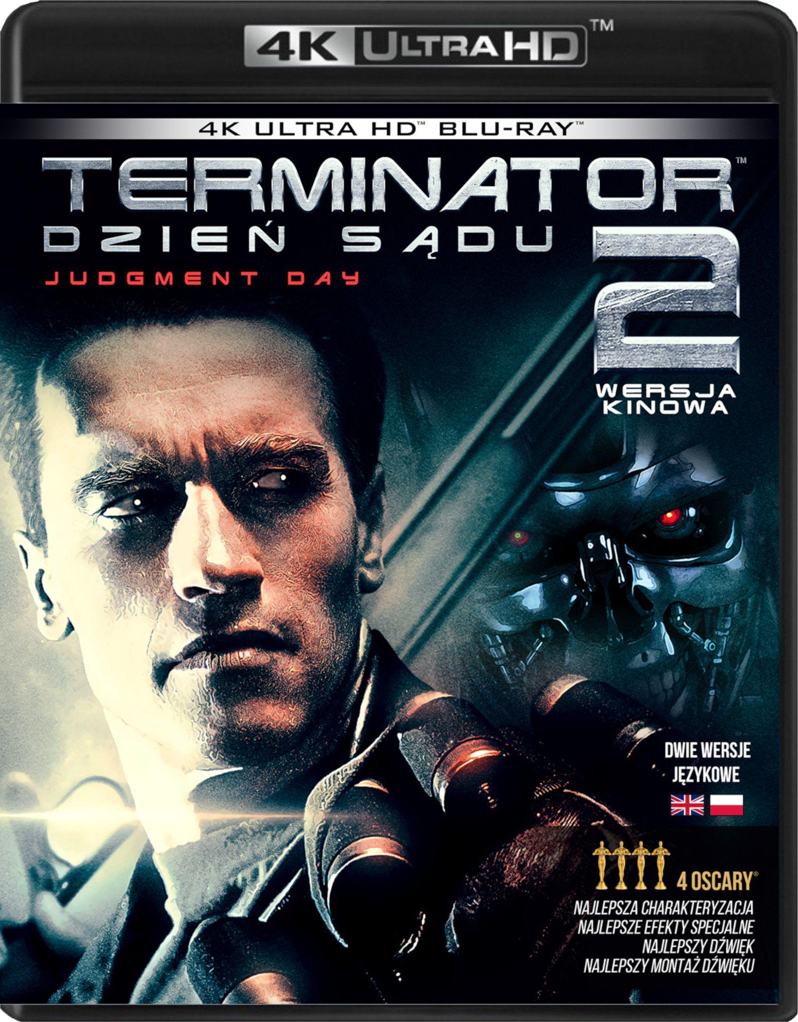 Wydanie 4K Ultra HD Blu-ray filmu Terminator 2: Dzień sądu