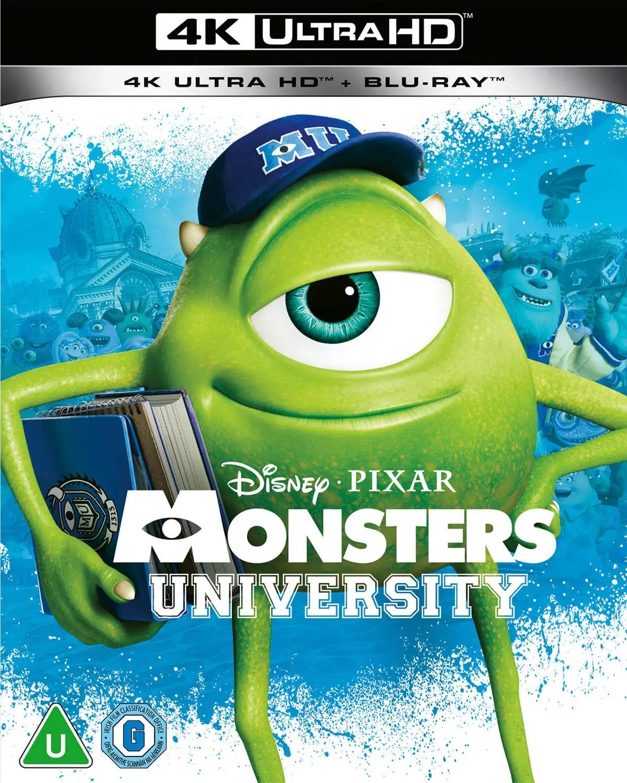 Uniwersytet Potworny wydanie 4K UHD