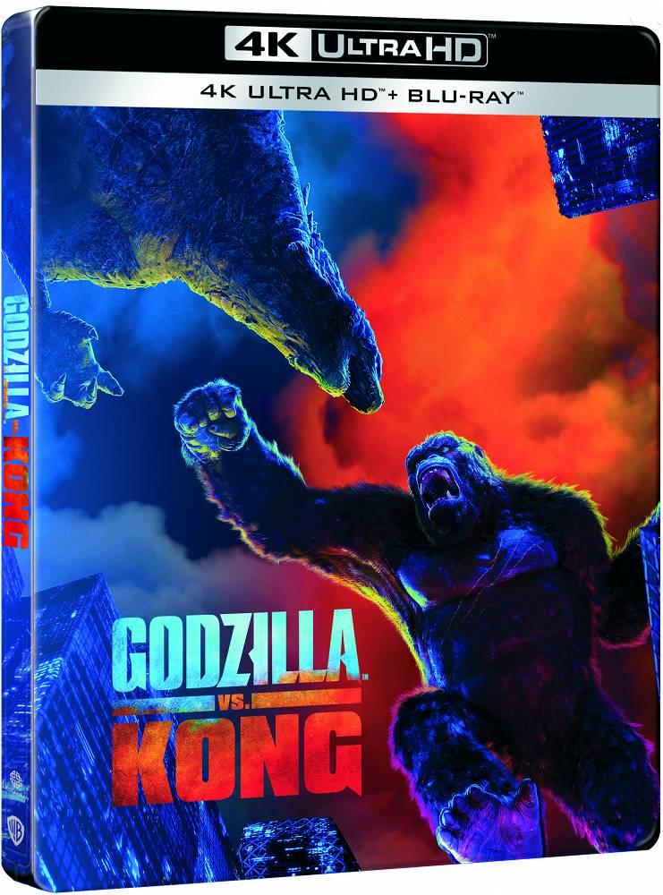 Godzilla kontra Kong steelbook 4K UHD