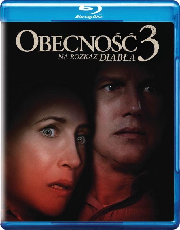 Obecność 3: Na rozkaz diabła wydanie Blu-ray