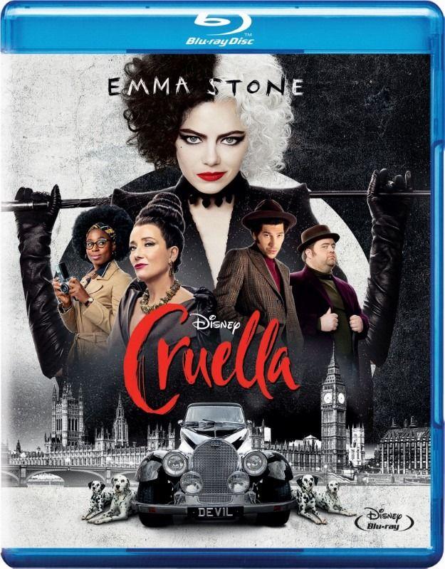 Cruella wydanie Blu-ray