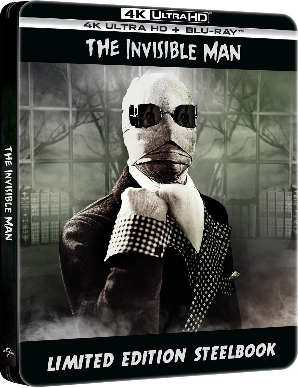 Niewidzialny człowiek steelbook 4K UHD