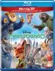 Zwierzogród [Blu-ray 3D + Blu-ray]