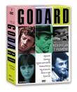 Jean-Luc Godard Kolekcja filmów - Do utraty tchu, Kobieta jest kobietą, Żołnierzyk, Szalony Piotruś, Alphaville, Made in U.S.A., Detektyw