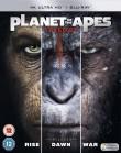Geneza Planety Małp | Ewolucja Planety Małp | Wojna o Planetę Małp