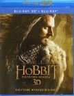 Hobbit: Pustkowie Smauga 3D + 2D. Edycja specjalna (4 Blu-ray)