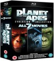 Planeta Małp - kolekcja 7-miu filmów
