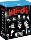 Frankenstein | Mumia | Niewidzialny człowiek | Narzeczona Frankensteina | Wilkołak | Dracula | Potwór z Czarnej Laguny | Upiór w operze