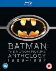Batman - kolekcja 4-ech filmów z lat 1989-1997