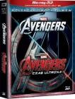 Pakiet Avengers. Avengers. Czas Ultrona. Kolekcja dwóch filmów 3D i 2D [4Blu-ray]