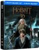 Hobbit: Bitwa Pięciu Armii 3D. Wydanie rozszerzone (5BD) (steelbook)