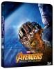 Avengers: Wojna Bez Granic - Steelbook [Blu-ray 3D + Blu-ray]