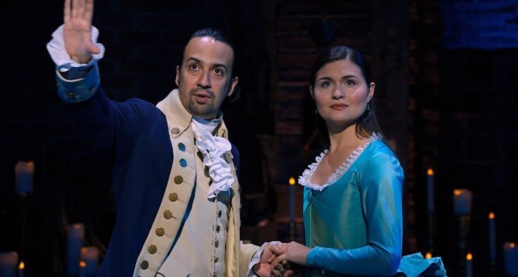 """Lin-Manuel Miranda w pierwszym fragmencie z """"Hamiltona"""" na Disney+"""