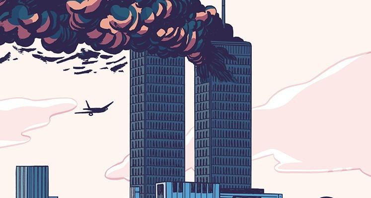 """""""11 września 2001. Dzień, w którym runął świat"""" – recenzja komiksu. Lekcja współczesnej historii"""