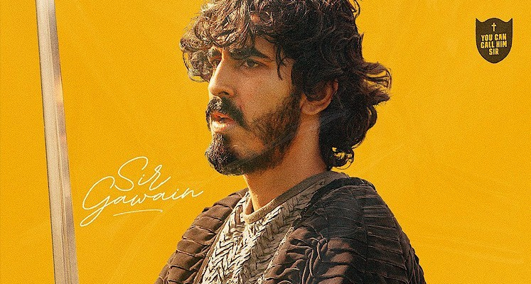 """Dev Patel jako sir Gawen na nowych plakatach do """"Zielonego Rycerza"""""""