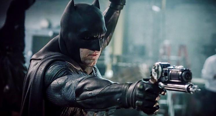 """Ben Affleck wyciska na planie """"Batman v Superman"""""""