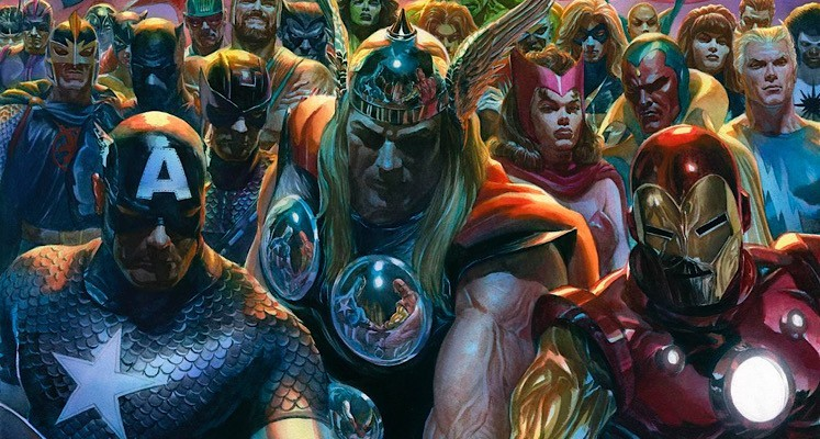 Alex Ross tworzy epicki mural z superbohaterami Marvela [wideo]