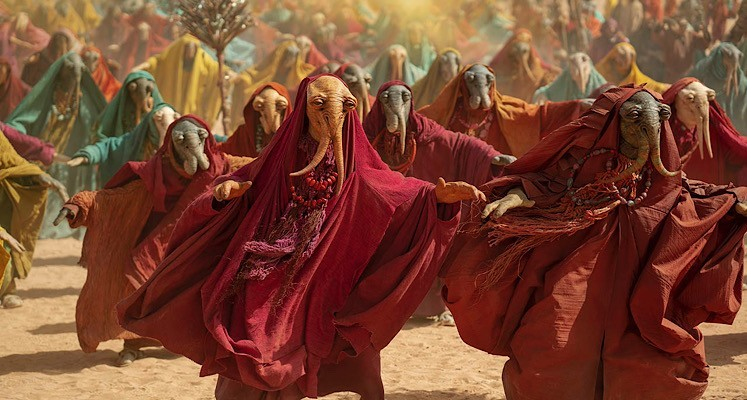 """Wskrzeszony Imperator Palpatine na nowym zdjęciu ze """"Skywalker. Odrodzenie"""" [galeria]"""