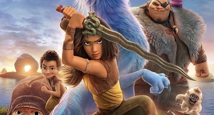 """Bohaterowie animacji """"Raya i ostatni smok"""" na kolejnym plakacie z nowego filmu Disneya"""