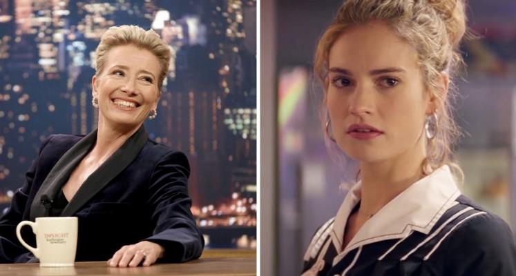 """Lily James i Emma Thompson w komedii romantycznej od reżyserki """"Elizabeth: Złoty wiek"""""""