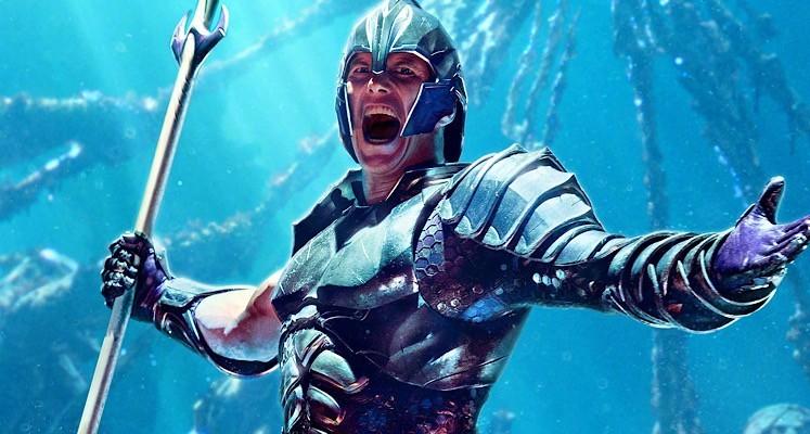 """Patrick Wilson jak Hanks w """"Cast Away"""" na zdjęciu z planu """"Aquamana 2"""""""