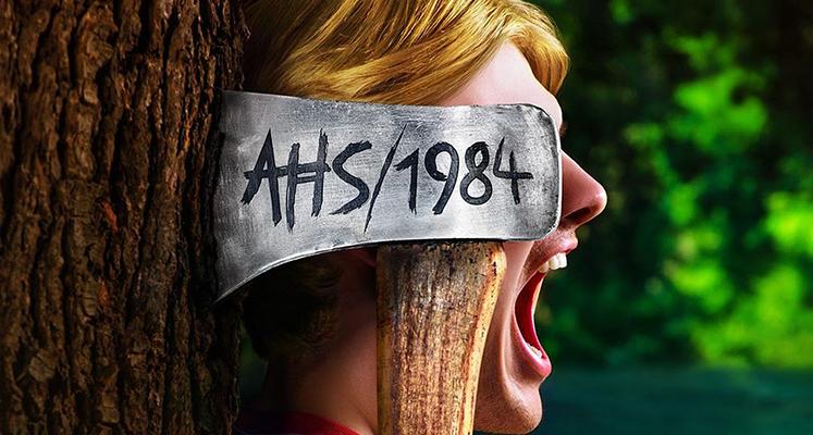"""Zobaczcie czołówkę serialu """"American Horror Story 1984"""" w klimacie  lat 80."""