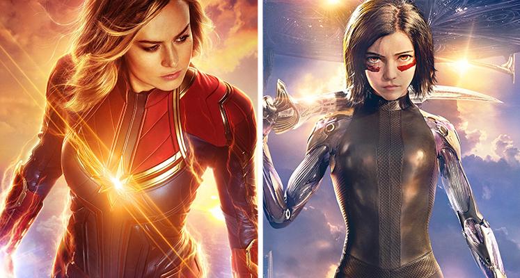 """Filmowe premiery tygodnia 22.07-28.07: """"Alita"""", """"Kapitan Marvel"""" i inne"""