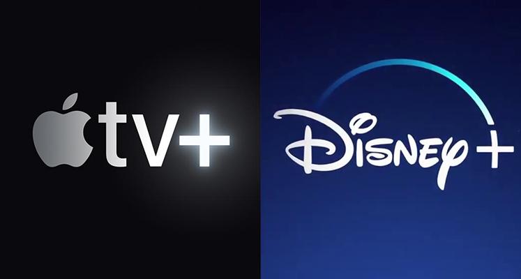 Apple i Disney z wiodącymi wynikami wśród amerykańskich platform streamingowych