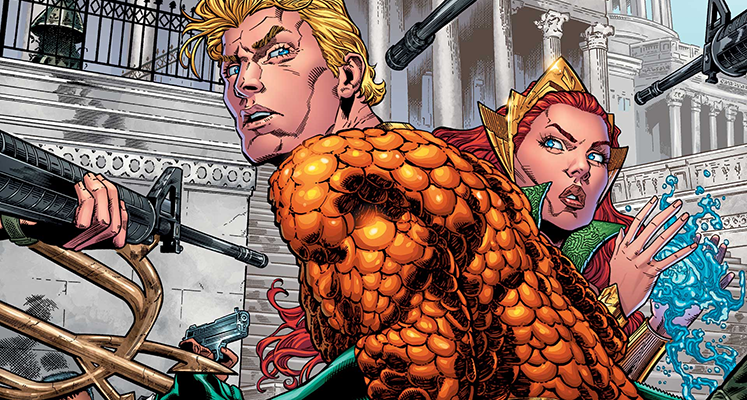 Aquaman tom 1: Utonięcie - recenzja komiksu