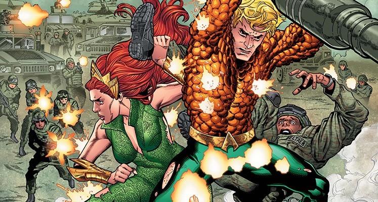 Aquaman tom 1: Utonięcie  - prezentacja komiksu