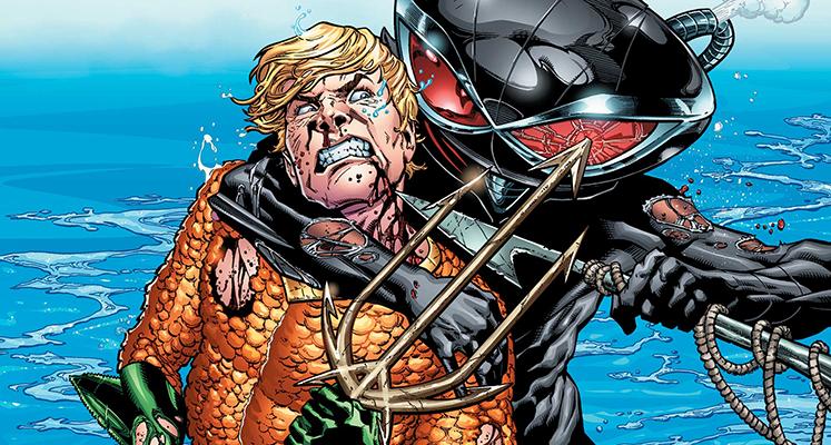 Aquaman tom 2: Nadpływa Czarna Manta - recenzja komiksu