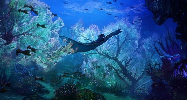 """Podwodny świat na nowych grafikach z """"Avatara 2"""""""