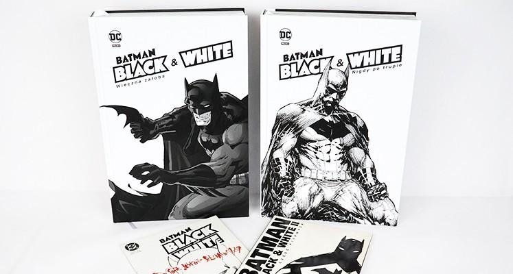 """Kolekcja """"Batman Noir. Batman Black & White"""" – prezentacja komiksów i porównanie z TM-Semic"""