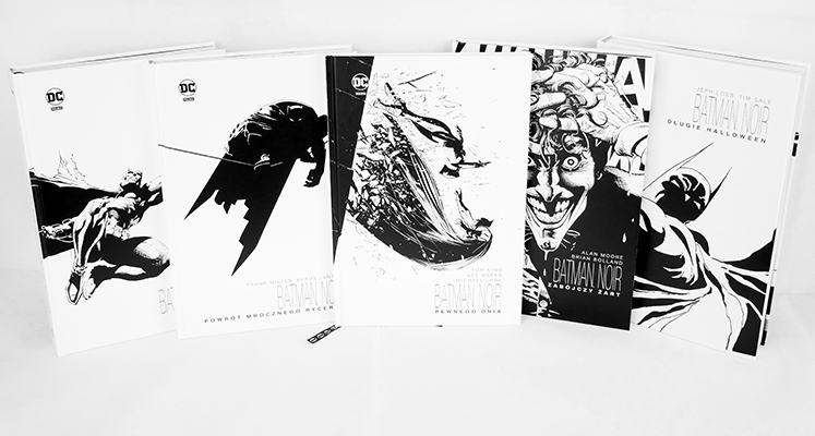"""Kolekcja """"Batman Noir"""" – prezentacja i porównanie. Słowo o nakładzie i jakości"""