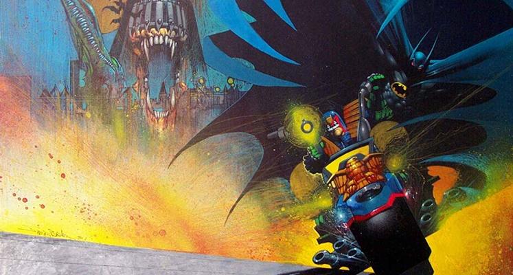 Batman/Sędzia Dredd. Wszystkie spotkania - prezentacja komiksu