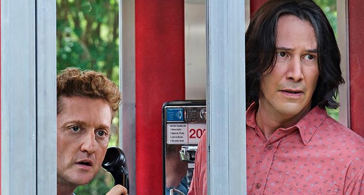 "Keanu Reeves na nowym zdjęciu z filmu ""Bill & Ted Face the Music"""