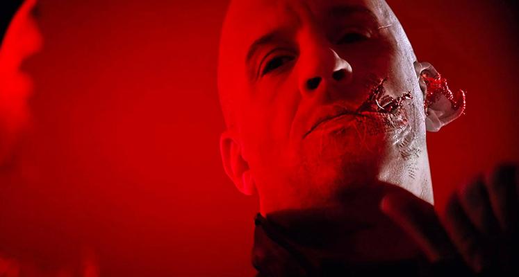 "Vin Diesel gotowy do walki na plakacie filmu ""Bloodshot"""