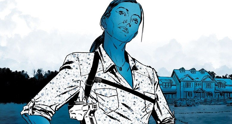 Briggs Land tom 1: Kobieca ręka - prezentacja komiksu