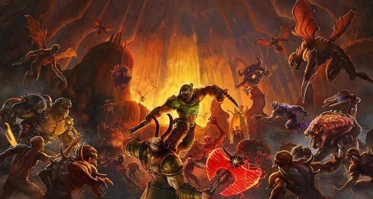 """Antyczni bogowie nadchodzą w nowym zwiastunie dodatku do """"DOOM: Eternal"""""""