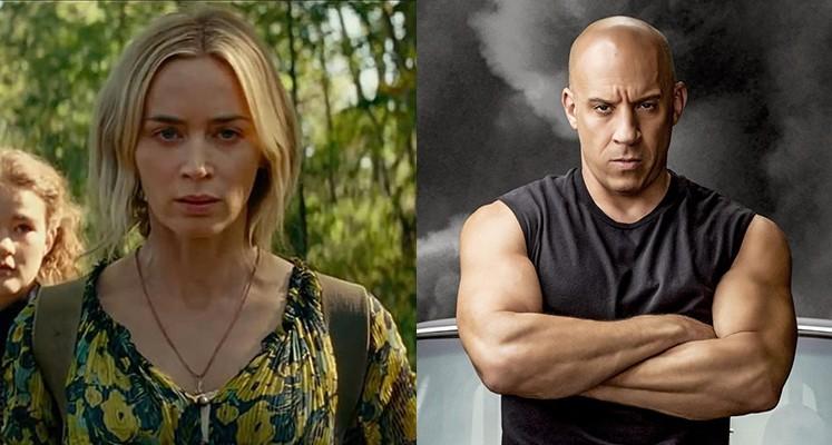 "Box Office – ""Ciche miejsce 2"" godnie otwiera letni sezon. Vin Diesel nadal w formie"