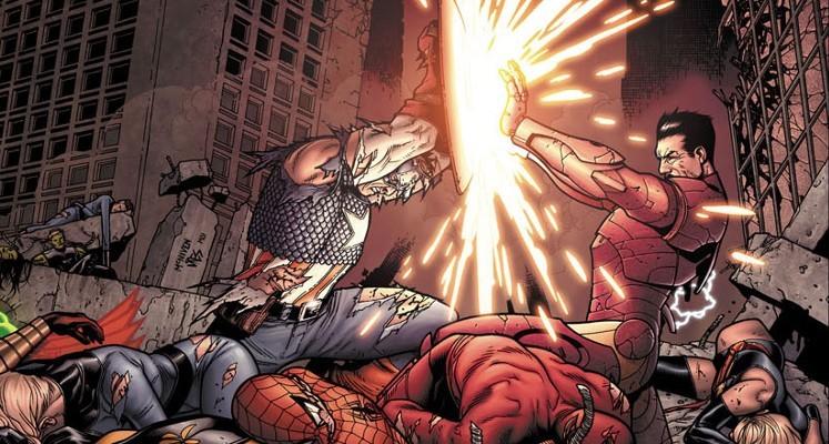 Wojna Domowa - recenzja komiksu