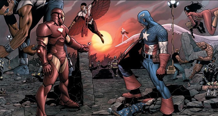 Wojna Domowa - prezentacja komiksu