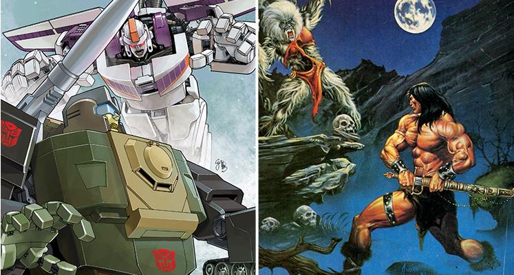 Komiksowa środa: Conan #64 i Transformersy #37