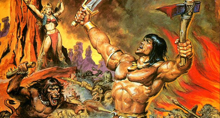 Conan Barbarzyńca tom 1: Czerwone Ćwieki - prezentacja komiksu