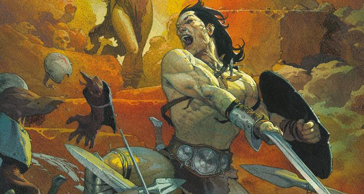 """""""Conan Barbarzyńca: Życie i śmierć Conana"""" księga pierwsza – recenzja komiksu"""