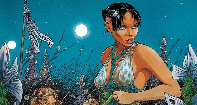 Sampler z komiksami science fiction od wydawnictwa Egmont