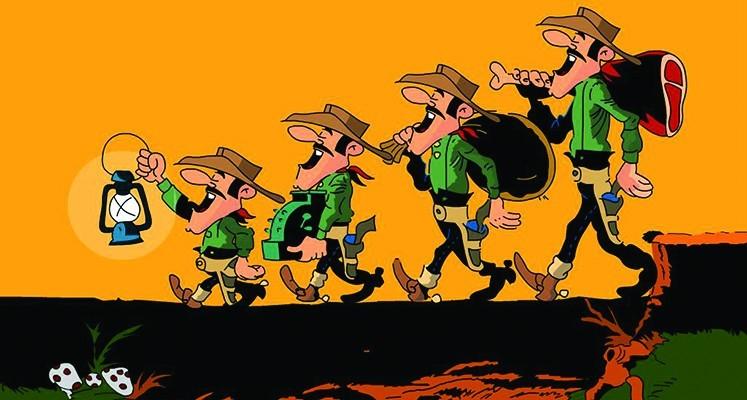 Lucky Luke: Skarb Daltonów - specyfikacja i przykładowe plansze
