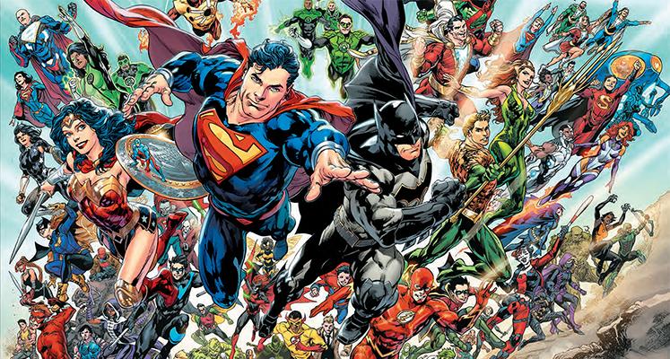 Uniwersum DC – Odrodzenie  - prezentacja komiksu