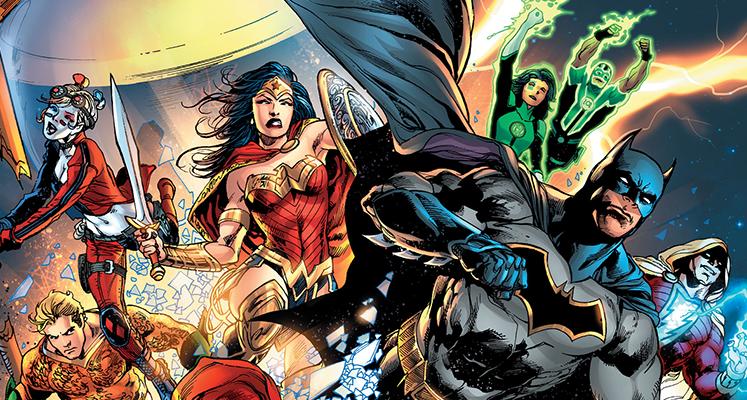 DC Odrodzenie: Batman, Superman, Suicide Squad i Green Arrow - prezentacje komiksów i wrażenia